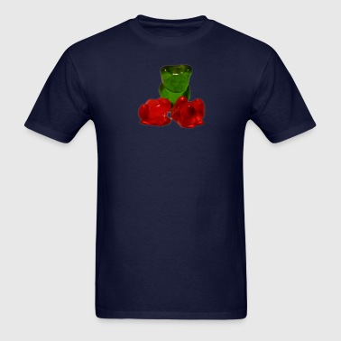 dead gummy bear - Men's T-Shirt