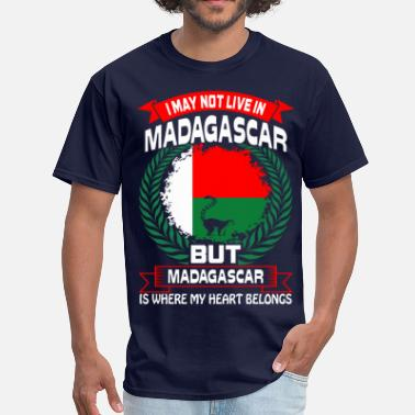 Madagascar Madagascar Is Where My Heart Belongs Country Tees - Men's T-Shirt