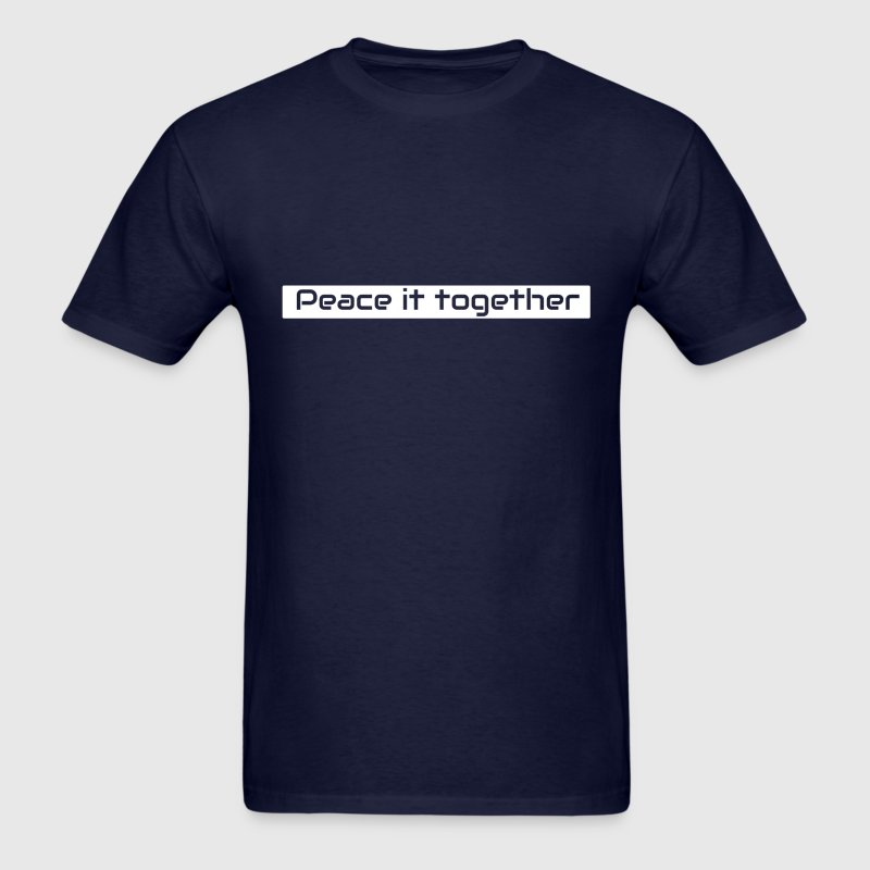 Peace it together - Men's T-Shirt