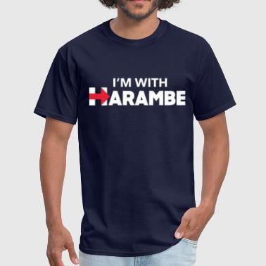 I'm With Harambe - Men's T-Shirt