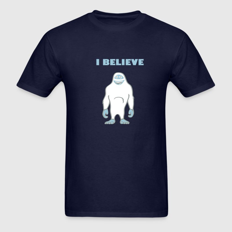 The Yeti: I believe! - Men's T-Shirt