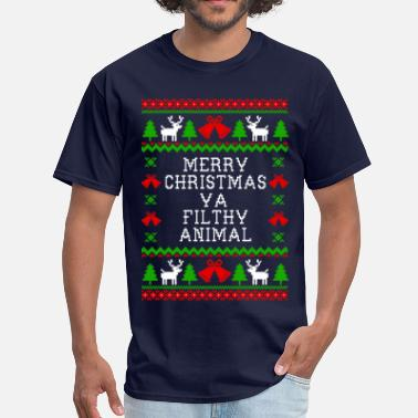 Home Alone Merry Christmas  - Men's T-Shirt