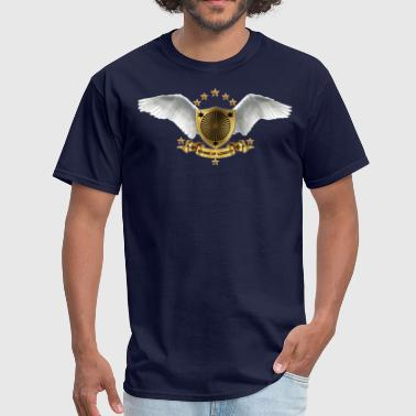 Alas shield and wings - Men's T-Shirt