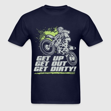 Motocross Get Dirty - Men's T-Shirt