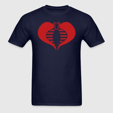 Cobra - Heart - Men's T-Shirt