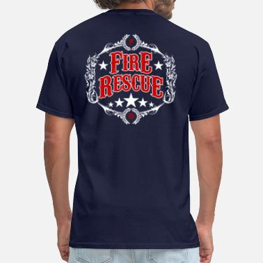 Irish Fire Department Fire Department Logo - Men's T-Shirt