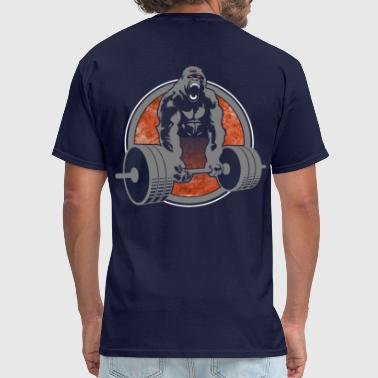Gorilla Lifting Weightlifting - Men's T-Shirt