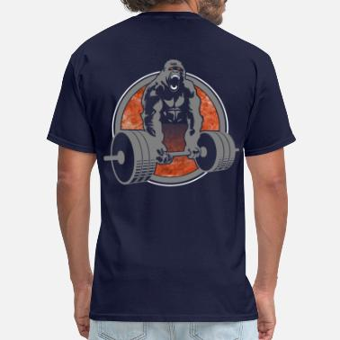Weightlifting Gorilla Lifting Weightlifting - Men's T-Shirt