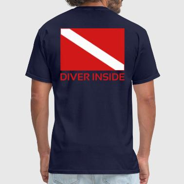 Diver Inside - Men's T-Shirt