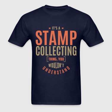 Stamp Collecting T-shirt - Men's T-Shirt