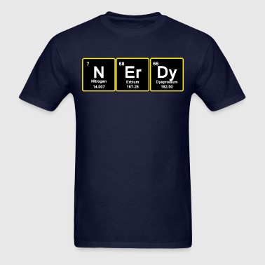 Nerdy. - Men's T-Shirt
