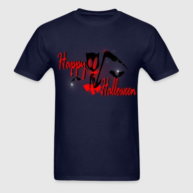 halloween horror graphic art - Men's T-Shirt