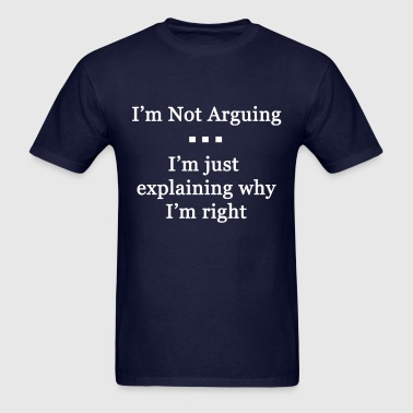Arguing - Men's T-Shirt