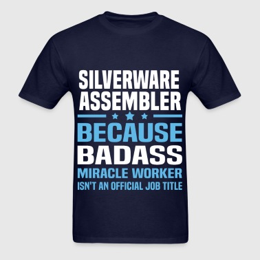 Silverware Assembler - Men's T-Shirt