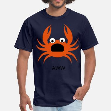 Aws AW CRAB!! - Men's T-Shirt