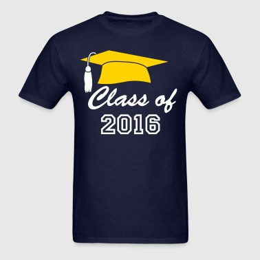 Class of Graduation Cap - Men's T-Shirt