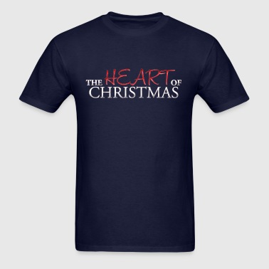 The Heart of Christmas - Men's T-Shirt