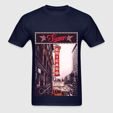 Swavy Chi-Town - Men's T-Shirt