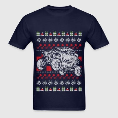 UTV Racing Christmas - Men's T-Shirt