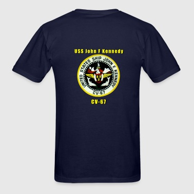 USS John F Kennedy CV-67 - Men's T-Shirt