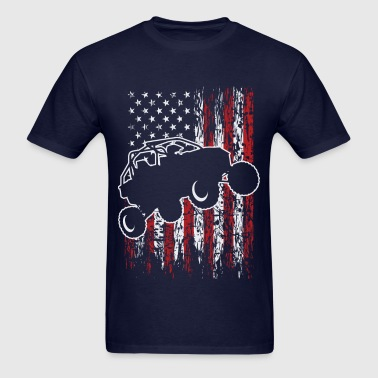 USA UTV RZR Racing - Men's T-Shirt