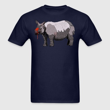 rhino hurt - Men's T-Shirt
