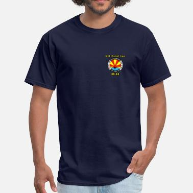 Cvs Coral Sea decomm design - Men's T-Shirt