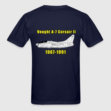 A-7 Corsair II Design - Men's T-Shirt