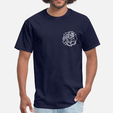 Volunteer Irish Firefighter 2 - Men's T-Shirt