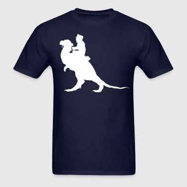 Riding Tauntaun Silhouette - Men's T-Shirt