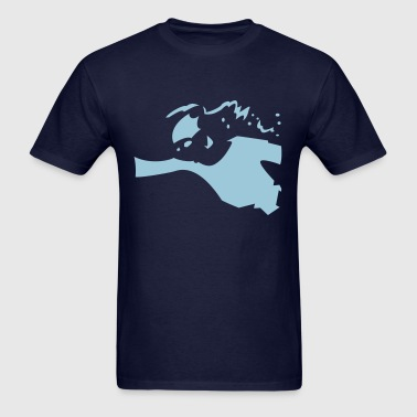swim competition - Men's T-Shirt