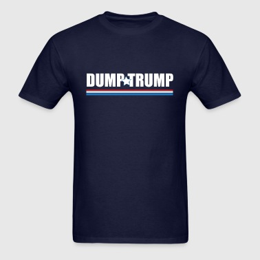 Dump Trump (Patriotic) - Men's T-Shirt