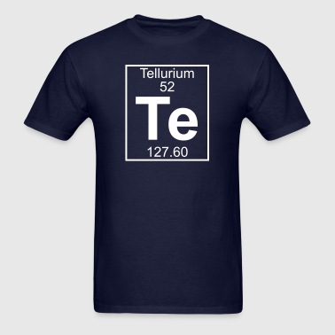 Element 52 - Te (Tellurium) - Full - Men's T-Shirt