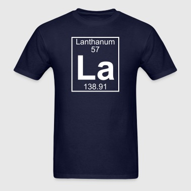 Element 57 - La (lanthanum) - Full - Men's T-Shirt
