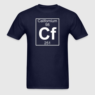 Element 98 - cf (californium) - Full - Men's T-Shirt