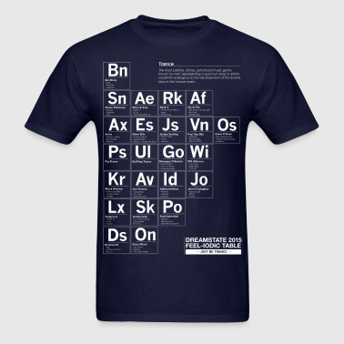 Dreamstate Periodic Table - Men's Gildan T-Shirt - Men's T-Shirt