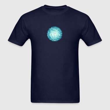Energy Ball, Chi, Reiki, Chakra, Arc Reactor - Men's T-Shirt