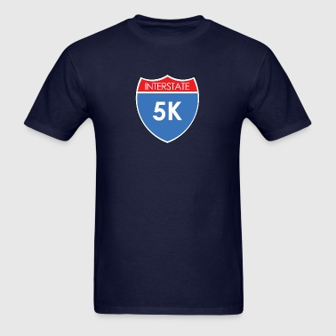 Interstate 5K - Men's T-Shirt