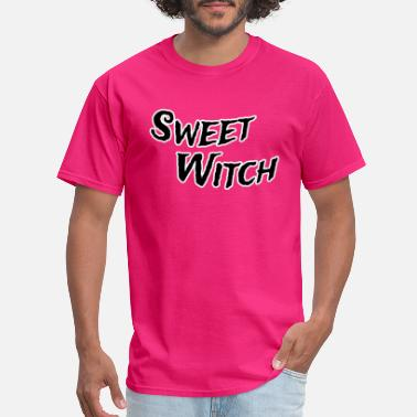 Witch Attitude Sweet witch - Men's T-Shirt
