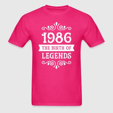 1986 - The Birth Of Legends - Men's T-Shirt