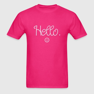 Hello :) - Men's T-Shirt