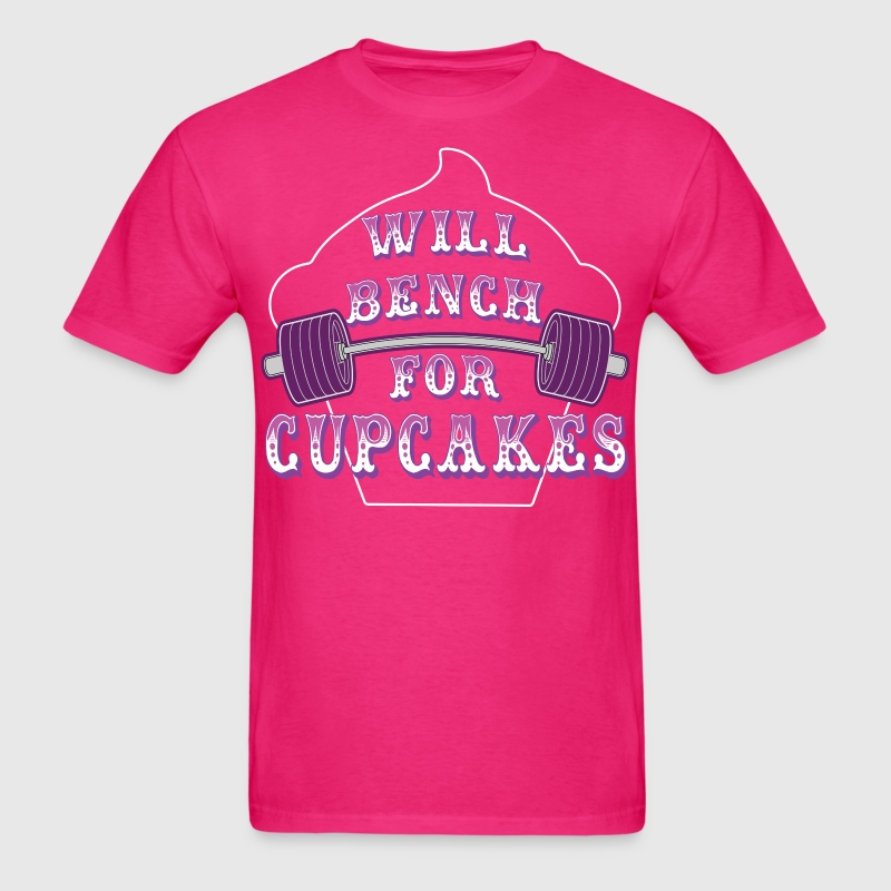 Will Bench for Cupcakes - Men's T-Shirt