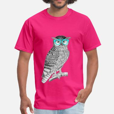 Pop Art Owl Pop Art - Men's T-Shirt