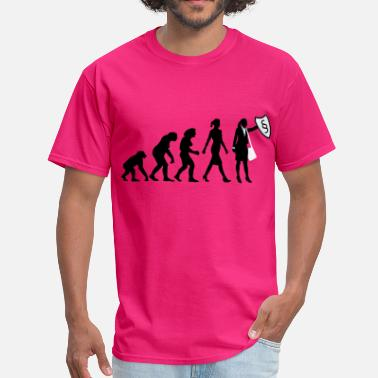 Lawyer Evolution evolution_female_lawyer_09_201603_3c - Men's T-Shirt