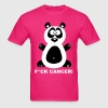 Fuck Cancer Fight Cancer Panda Pandabear Bear Cool - Men's T-Shirt
