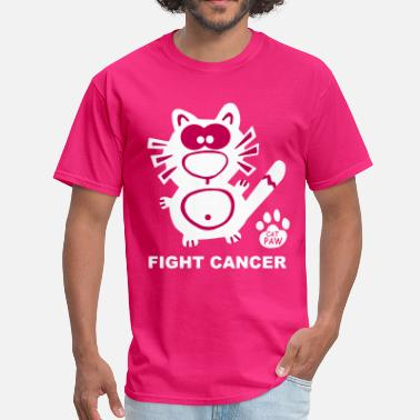 Breast Cancer Awareness Help Fight Cancer Breast Cancer Awareness Women Catpaw - Men's T-Shirt