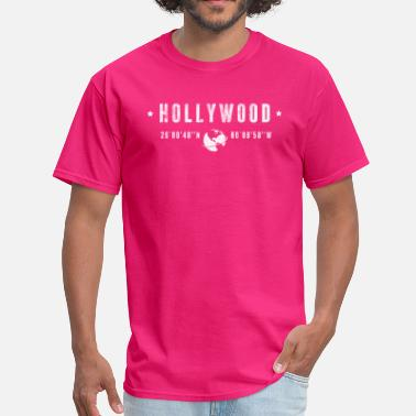 Tourism Hollywood - Men's T-Shirt