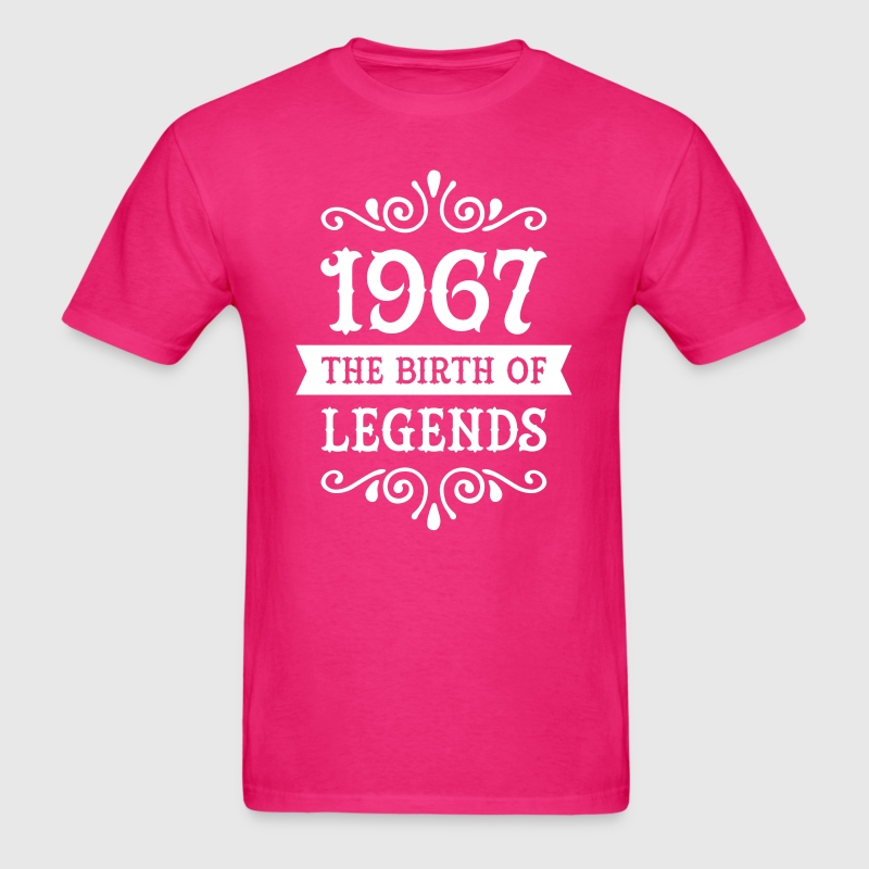 1967 - The Birth Of Legends - Men's T-Shirt