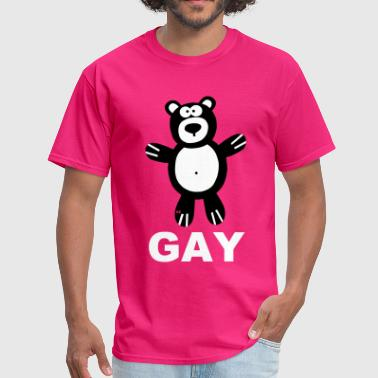 Bear Bears Gay Pride Statement Proud Men Boys - Men's T-Shirt