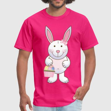 Girl Easter Bunny - Men's T-Shirt